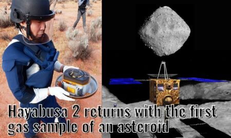 Hayabusa 2 returns to earth with the asteroid gas samples