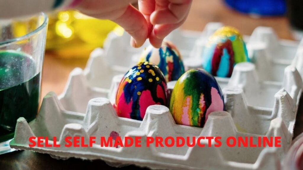 sell self-made products online
