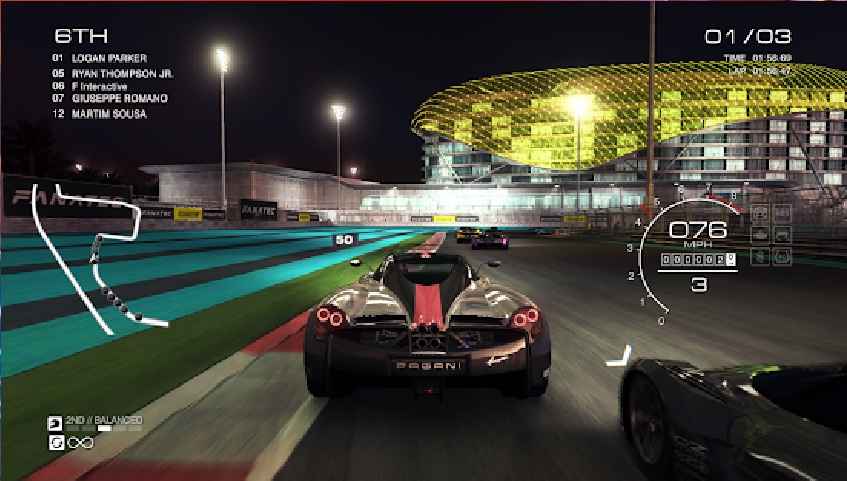 GRID Autosport android game