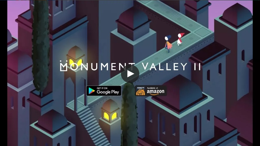 Monuments Valley 1 and 2 Android Games