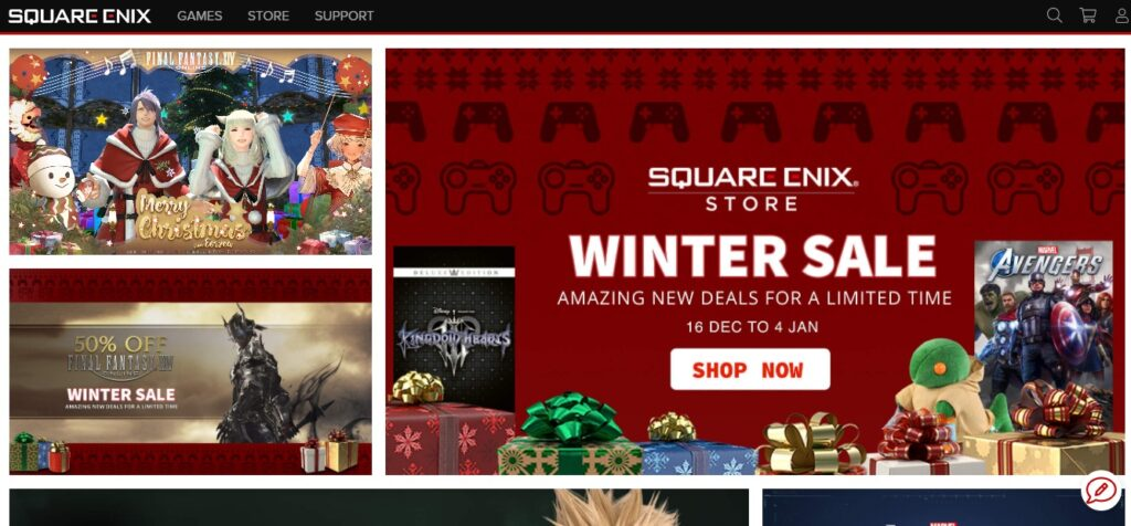 Square Enix android game